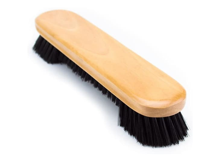 Image of a pool table brush