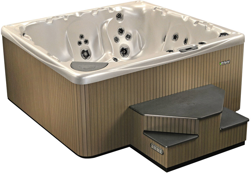 This 7 series beachcomber hot tub represents one of the questions to ask before buying a hot tub: Does size matter?