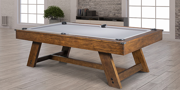 The barren room pool table is ideal for any game room