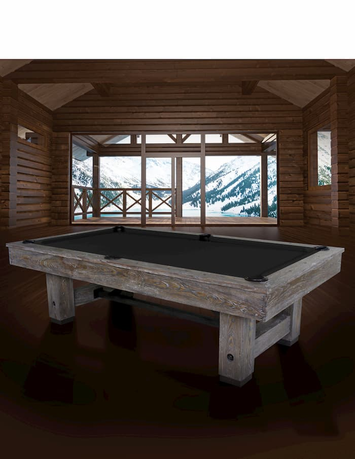 Image of pool billiard table (Cimarron room) for the article SURE WAYS TO RUIN YOUR BILLIARDS TABLE