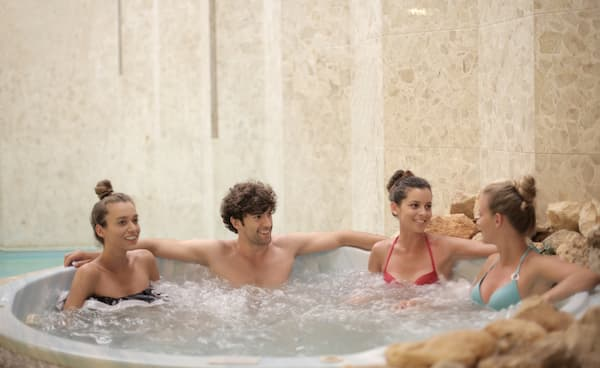 Hot tub games for everyone