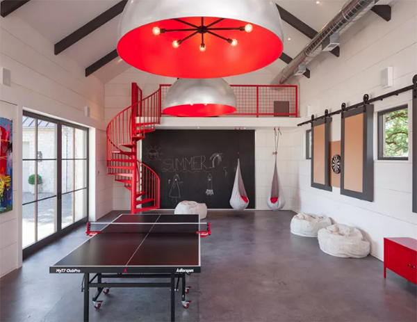 Game room ideas featured image of athletic game room