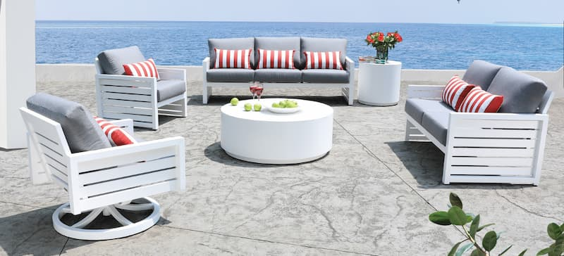 best outdoor patio furniture for Canadian climate