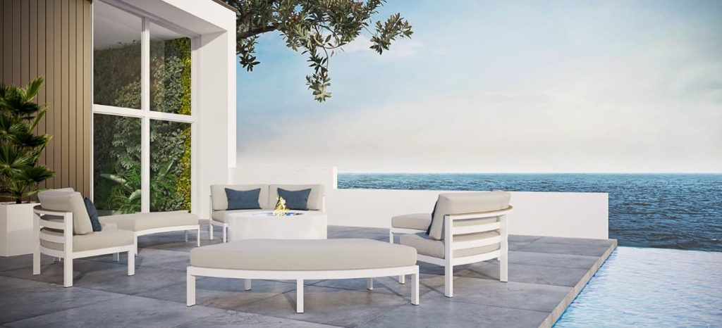 Learn how to clean patio furniture-even if it's low-maintenance like cast aluminum