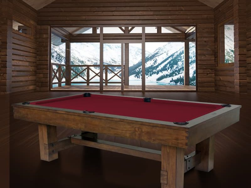 winchester room pool table