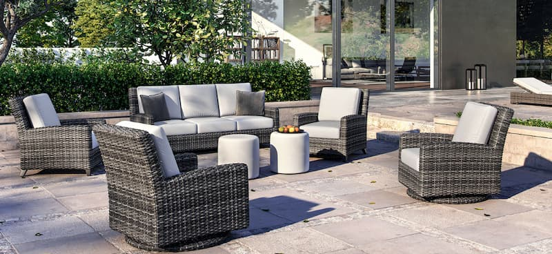 Know what to do with patio furniture in the winter is easy with all season wicker