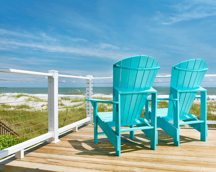 Comparing the muskoka chair vs. adirondack chair side by side