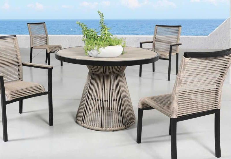Cabana coast cove patio table collection