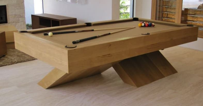 X-base pool table is a luxury option